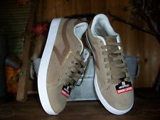 AIRSPEED MENS GENUINE LEATHER SKATEBOARDING SHOES SIZE 7 TAN CASUAL BEACH SUMMER