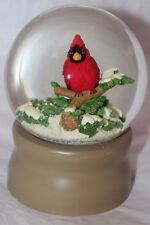Midwest of Cannon Falls L.L. Bean Cardinal Bird on a Tree Branch Snow Globe