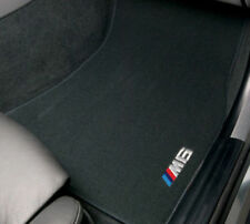 BMW M6 Coupe 6 Series 2006-2010 Embroidered Carpet Floormats Mats Set OEM