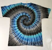 *New* Handmade Electric Graphite Tie Dye, Long Or Short Sleeve, Sm - 4XL