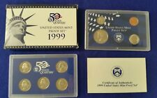 1999 US Proof Set in Original Mint Packaging - FREE SHIPPING