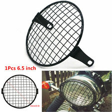 6.5inch Retro Motorcycle Cafe Racer Headlight Square Mesh Grille Protector Cover