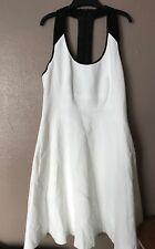 Karen Millen  Skater Dress Black And White UK Size 6 Was£ 170