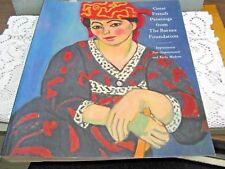 Great French Paintings from the Barnes Foundation 1993 Knopf Books FIRST EDITION