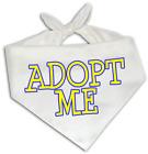 Adopt Me - Dog Bandana One Size Fits Most - Pet Adoption Rescue Animal Shelter