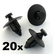 20x Volvo Plastic Rivet Fastener Clips- For trim panels, bumper, fascias, lining