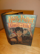 2000-Harry Potter and The Goblet of Fire, 1st American Edition, 1st Print