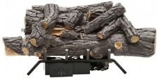 Savannah Oak 18 in. Vent-Free Natural Gas Fireplace Logs w/ Remote By Emberglow