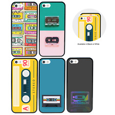 Cassette Tape Bumper Case for Apple iPhone 5 5s SE 6 6s 7 8 PLUS X XR XS Max