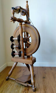 """Original  """"WEE PEGGY"""" Rappard & Company spinning wheel in excellent condition."""