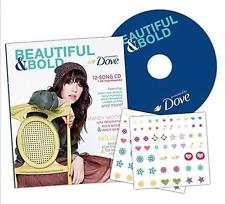 DOVE Beautiful & Bold ZinePak CD ELLIE GOULDING Keyshia Cole SKYLAR GREY NEW