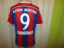 FC Bayern München Adidas Heim Trikot 2014/15 + Nr.9 Lewandowski Gr.176- S TOP