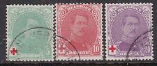 Belgium ^1914 Yvert# 128-131 used Semis Classics $ 24.00@ dca360belgeb