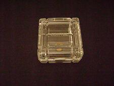 Vintage CONTEL Leaded Crystal Jewel Box New