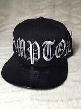 ACADEMY FITS (COMPTON) FAUX ALLIGATER SKIN SNAP BACK HAT