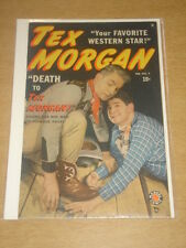 TEX MORGAN #9 FN- (5.5) MARVEL COMICS FEBRUARY 1950
