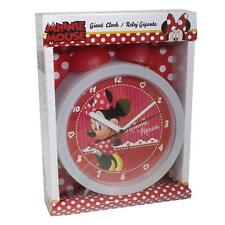 Disney Minnie Mouse Giant Bedside Table Bell Alarm Clock WD60027