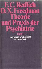 su- w 0148  REDLICH / FREEDMAN : THEORIE UND PRAXIS DER PSYCHIATRIE 1 + 2  w 148