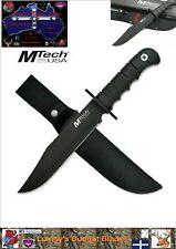 MTech USA Fixed Blade Hunting Knife with Nylon Sheath.