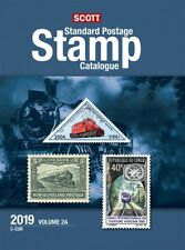 New 2019 SCOTT Standard Postage Stamp Catalog Vol 2 A & 1 B US Countries C F
