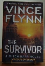 THE SURVIVOR, Hardcover 1st Ed.,  Vince Flynn's Mitch Rapp Novel by Kyle Mills