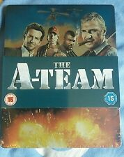 The A-Team UK Blu Ray & DVD Steelbook Edition NEW and Sealed