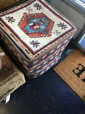 Ottoman IN PERSIAN WOOL HAND MADE KILIM