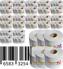 Thermopaper 48x Label Rolls for Adhesive Labels Thermorollen Barcode Blaster