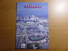 Turner Field Stadium Postcard MLB Atlanta Braves