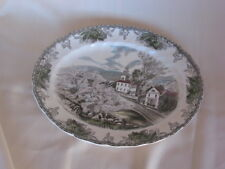 """Johnson Brothers Bros The Friendly Village Platter The Village Green England 12"""""""