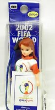2002 Rare Takara Fifa World Cup Mini Doll Phone Charm w/ Strap Mint In Pkg Licca