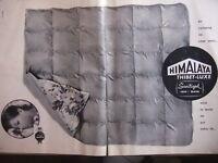 PUBLICITÉ 1960 VACANCES CAMPING CHEZ VOUS HIMALAYA THIBET LUXE - ADVERTISING