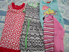 (4X) GIRLS SIZE 6 DRESSES AND TOPS - CHECK ALL PHOTOS