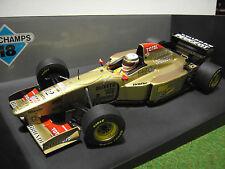 F1 JORDAN PEUGEOT BRUNDLE # 12 au 1/18 Minichamps 180960012 voiture miniature