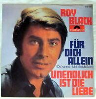 """7"""" Vinyl - FÜR DICH ALLEIN / UNENDLICH IST DIE LIEBE - Roy Black"""