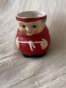 German Pottery Goebel Red Cardinal Friar Tuck Small Cream Jug