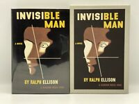 THE INVISIBLE MAN Ralph Ellison First Edition Library Collector's LIMITED SLIPCS