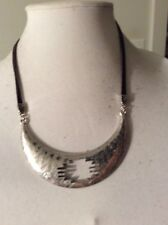 LUCKY Brand Arizona Leather Necklace $55 #Y04a