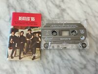 The Beatles 65 CASSETTE Tape Capitol C4-90446 Paul McCartney, John Lennon RARE!