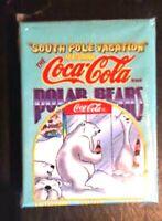 COKE COCA COLA POLAR BEARS SOUTH POLE VACATION TRADING CARDS COMPLETE SET