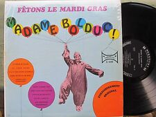FRENCH-CANADIAN MARDI GRAS LP: MADAME BOLDUC on CARNAVAL Fetons Le Mardi Gras
