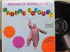 FRENCH-CANADIAN MARDI GRAS LP: MADAME BOLDUC on CARNAVAL Fetons Le Mardi Gras