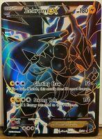 FULL ART Zekrom EX (ULTRA RARE) 97/99 Pokemon Black White Next Destinies - LP