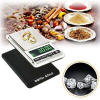 Electronic Pocket Digital LCD Weighing Scales for Weighing Gold Jewellery Herb