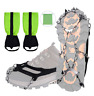 Roywel Crampons Traction Cleats Ice Snow Climbing Hiking Grips non-slip tech