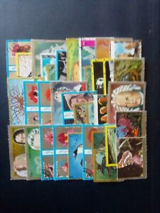 ARAB EMIRATES good lot of stamps mixed condition
