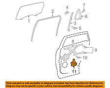 TOYOTA OEM 11-15 Venza Rear Door-Window Motor 857200T041