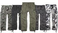 Brandit Herren M65 Vintage Cargo Hose Trekking Outdoor Arbeitshose M-65 Trouser