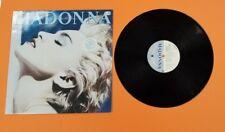 """MADONNA """"TRUE BLUE"""" LP ALBUM RARE SPAIN **** PROMO **** 1986"""