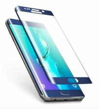 TEMPERED GLASS SCREEN PROTECTOR GALAXY S6 EDGE PLUS - BLUE - LOT OF 3